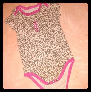 cheetah juicy couture onesie